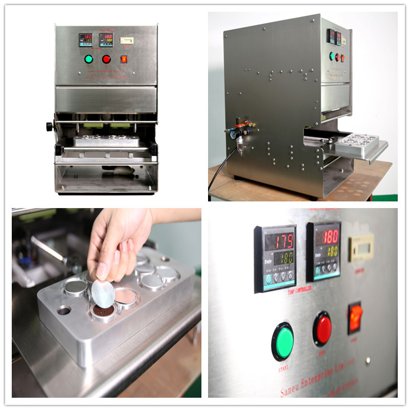 Coffee Capsule Heat Sealing Machine
