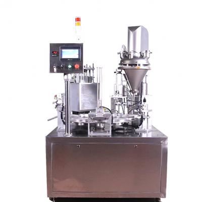 Fully automatic coffee capsule filling sealing machine
