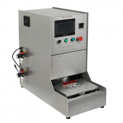 Automatic coffee capsule sealing machine